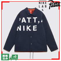 Patta Unisex Street Style Collaboration Coach Jackets Oversized