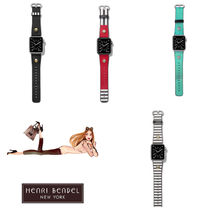 Henri Bendel Unisex Leather Watches