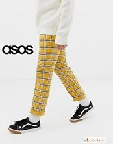 ASOS Printed Pants Other Check Patterns Street Style