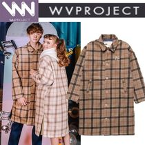 WV PROJECT Unisex Studded Long Parkas