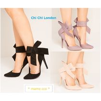 Chi Chi London Plain Pin Heels Party Style Pointed Toe Pumps & Mules