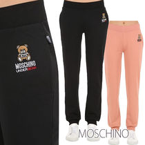 Moschino Casual Style Street Style Plain Cotton Long Sarouel Pants