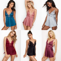 Victoria's secret Blended Fabrics Plain Lace Slips & Camisoles