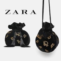 ZARA Tassel Party Style Purses Party Bags