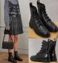 Christian Dior Leather Flat Boots