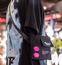 Off-White Street Style Collaboration Messenger & Shoulder Bags