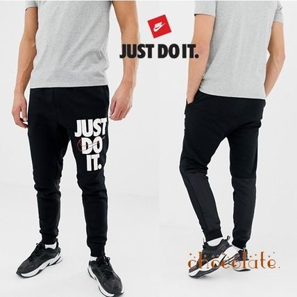 64c100f3ccf1 Nike 2019 SS Sweat Street Style Plain Skinny Fit Pants by chocolate ...