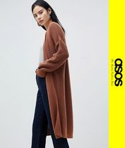 ASOS Casual Style Long Sleeves Long Cardigans