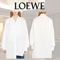 LOEWE Long Sleeves Cotton Shirts & Blouses
