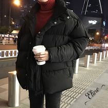 Short Street Style Plain Oversized Down Jackets
