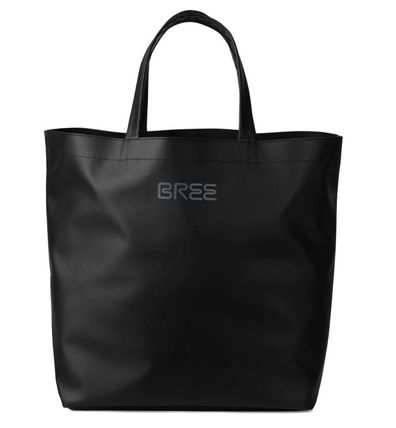 Unisex Street Style A4 PVC Clothing Totes