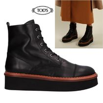 TOD'S Leather Boots Boots