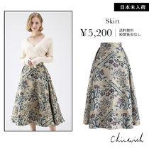 Chicwish Flower Patterns Skirts