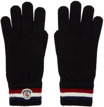 MONCLER Unisex Wool Gloves Gloves