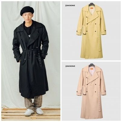 Long Oversized Trench Coats