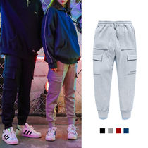TWN Unisex Street Style Cotton Oversized Joggers & Sweatpants