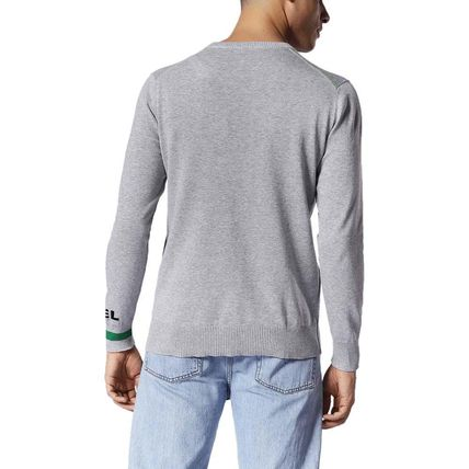 DIESEL Knits & Sweaters Crew Neck Pullovers Long Sleeves Cotton Knits & Sweaters 11