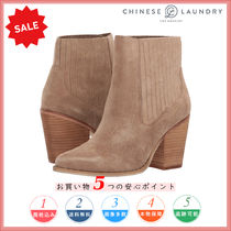 CHINESE LAUNDRY Casual Style Plain Other Animal Patterns Chunky Heels