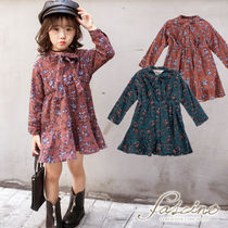 Dark Brown Kids Girl Dresses