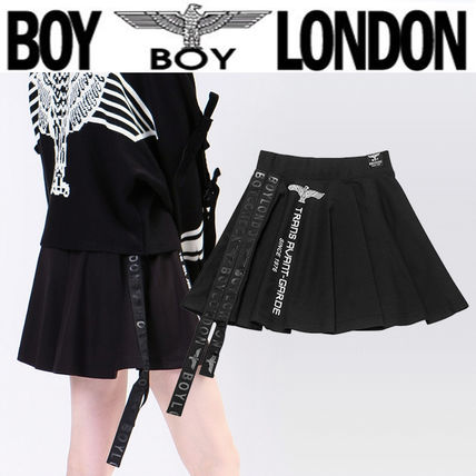 Flared Skirts Short Street Style Skirts