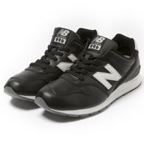 New Balance 996 Unisex Street Style Leather Sneakers