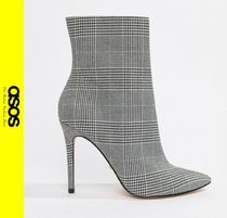 ASOS Other Check Patterns Casual Style Ankle & Booties Boots