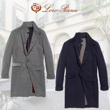 Cashmere Plain Long Coats