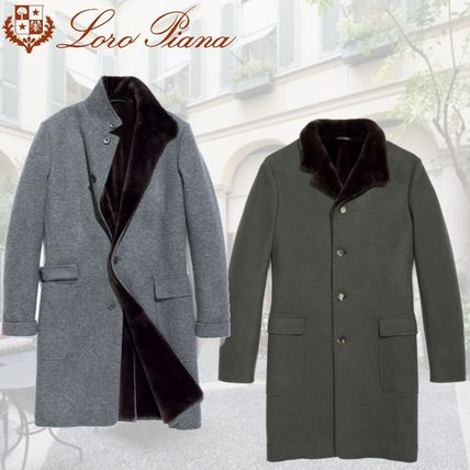 Cashmere Plain Long Chester Coats