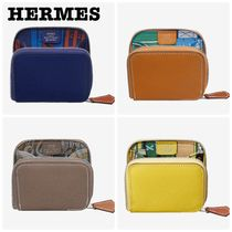 HERMES Silk In Coin Purses
