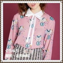 Sister Jane Casual Style Long Sleeves Other Animal Patterns