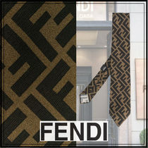 FENDI Silk Special Edition Ties