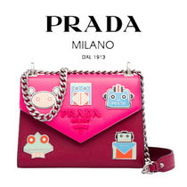 PRADA Casual Style Street Style 2WAY Bi-color Chain