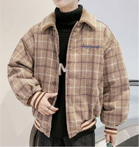 Short Other Check Patterns Street Style Coach Jackets