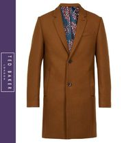 TED BAKER Wool Long Chester Coats