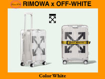 Off-White Collaboration Luggage & Travel Bags
