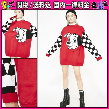 Crew Neck Other Check Patterns Casual Style Unisex