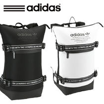 adidas Unisex Nylon Street Style Backpacks