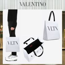 VALENTINO A4 Leather Totes