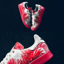 adidas STAN SMITH Camouflage Casual Style Unisex Street Style Collaboration