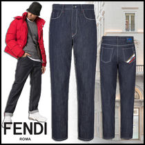 FENDI Denim Plain Jeans & Denim
