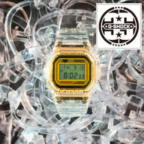 CASIO Casual Style Street Style Square Digital Watches