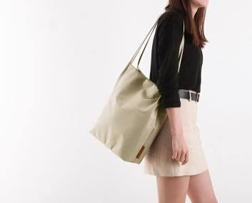 Casual Style Nylon Bag in Bag A4 Plain Shoulder Bags