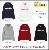 Tommy Hilfiger Unisex Long Sleeves Cotton Hoodies