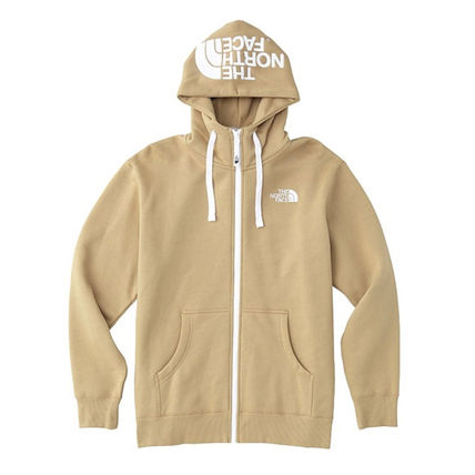 THE NORTH FACE Hoodies Unisex Street Style Long Sleeves Plain Hoodies 3