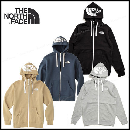 THE NORTH FACE Hoodies Unisex Street Style Long Sleeves Plain Hoodies