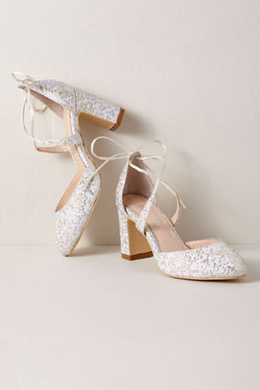 BHLDN Wedge Pumps & Mules