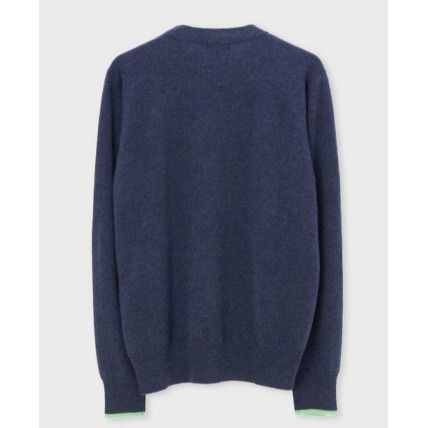 Paul Smith Knits & Sweaters Crew Neck Cashmere Long Sleeves Plain Knits & Sweaters 5