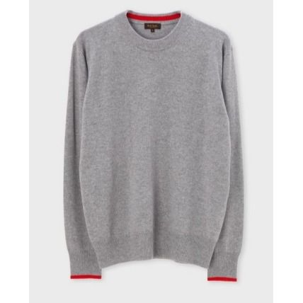 Paul Smith Knits & Sweaters Crew Neck Cashmere Long Sleeves Plain Knits & Sweaters 6