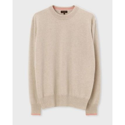 Paul Smith Knits & Sweaters Crew Neck Cashmere Long Sleeves Plain Knits & Sweaters 7
