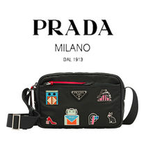 PRADA Casual Style Nylon Street Style Other Animal Patterns